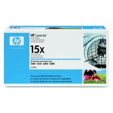 HP C7115X (15X) - originální - Černá vekoobjemová na 3500 stran(011-00235)