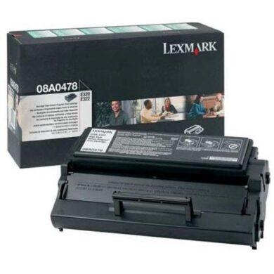Lexmark 08A0478 RETURN - originální - Černá vekoobjemová na 6000 stran(011-00640)