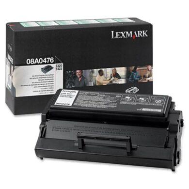 Lexmark 08A0476 RETURN - originální - Černá na 3000 stran(011-00645)