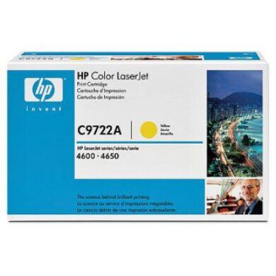 HP C9722A Yellow toner pro Color LJ4600(011-00912)