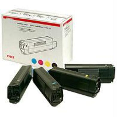 OKI C5000-BK/C/M/Y toner sada pro 5100 - originální(011-00945)