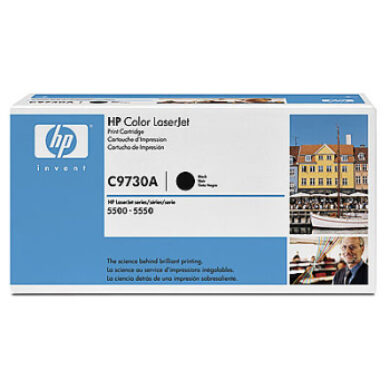 HP C9730A (645A) - originální - Černá na 13000 stran(011-01010)