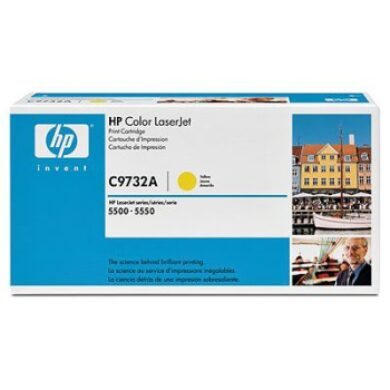 HP C9732A (645A) - originální - Yellow na 12000 stran(011-01013)