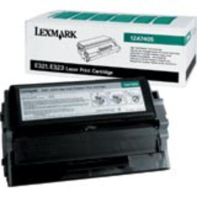 Lexmark 12A7405 RETURN - originální - Černá vekoobjemová na 6000 stran(011-01120)
