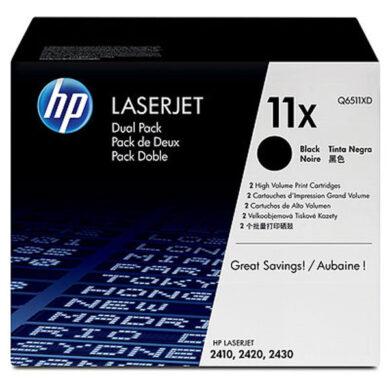 HP Q6511XD (11X) - originální - Černá - Sada multipack na 24000 stran(011-01188)