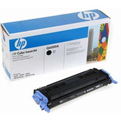 HP Q6000A (124A) - originální - Černá na 2500 stran(011-01290)