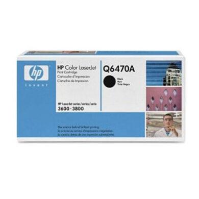 HP Q6470A (501A) - originální - Černá na 6000 stran(011-01420)