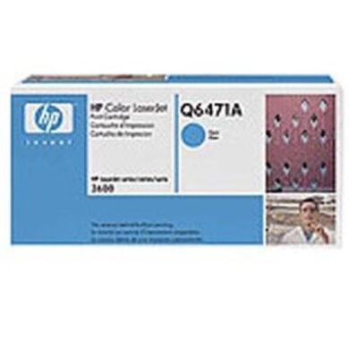 HP Q6471A (502A) - originální - Cyan na 4000 stran(011-01421)