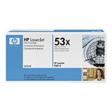 HP Q7553X (53X) - originální - Černá velkoobjemová na 7000 stran(011-01615)