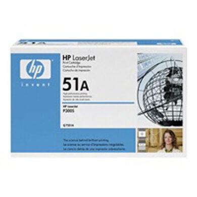 HP Q7551A (51A) - originální - Černá na 6500 stran(011-01620)
