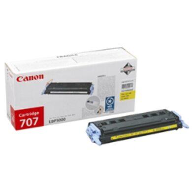 CANON CRG 707Y pro LBP5000, 2.5K Žlutá(011-01883)