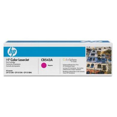 HP CB543A (125A) - originální - Magenta na 1400 stran(011-02053)