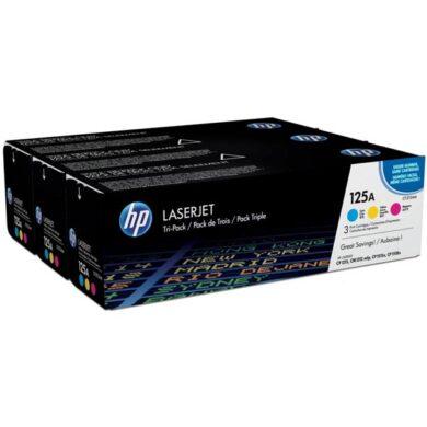 HP CF373A (125A) - originální - Sada barev (C-M-Y)(011-02054)