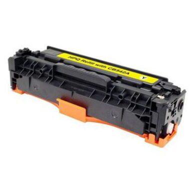 HP CB542A (125A) - kompatibilní - Yellow na 1400 stran(011-02057)