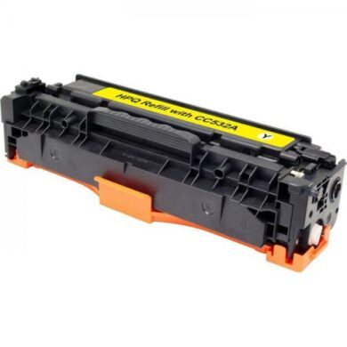 HP CC532A (304A) - kompatibilní - Yellow na 2800 stran(011-02237)