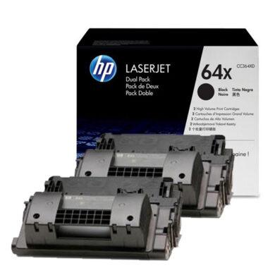 HP CC364XD (64X) - originální - Černá - Sada multipack na 48000 stran(011-02257)
