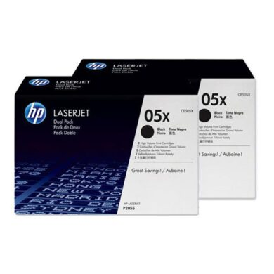 HP CE505XD (05X) - originální - Černá - Sada multipack na 13000 stran(011-02264)