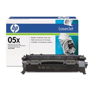 HP CE505X (05X) - originální - Černá vekoobjemová na 6500 stran(011-02265)
