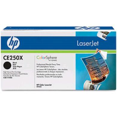 HP CE250X (504X) - originální - Černá vekoobjemová na 10500 stran(011-02275)