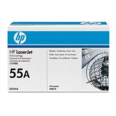 HP CE255A (55A) - originální - Černá na 6000 stran(011-02630)
