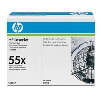 HP CE255X (55X) - originální - Černá velkoobjemová na 12500 stran(011-02635)