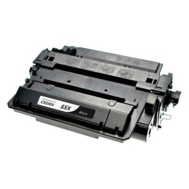 HP CE255X (55X) - kompatibilní - Černá velkoobjemová na 12500 stran(011-02636)