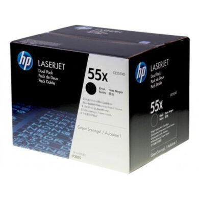 HP CE255XD (55X) - originální - Černá - Sada multipack na 25000 stran(011-02637)