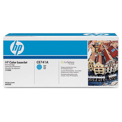HP CE741A (307A) - originální - Cyan na 7300 stran(011-02891)