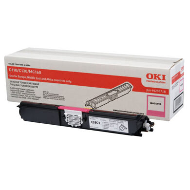 OKI 44250722 (toner-M-HC-C110/130/MC160) - originální - Magenta HC na 2500 stran(011-02932)