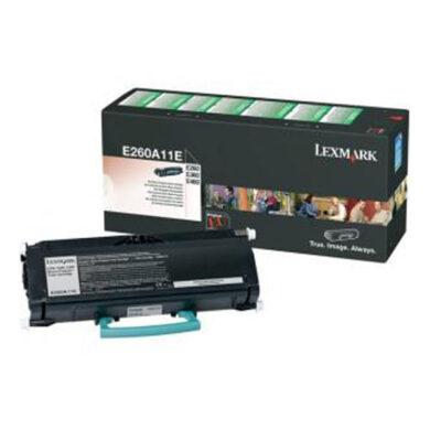 Lexmark E260A11E RETURN - originální - Černá na 3500 stran(011-03030)