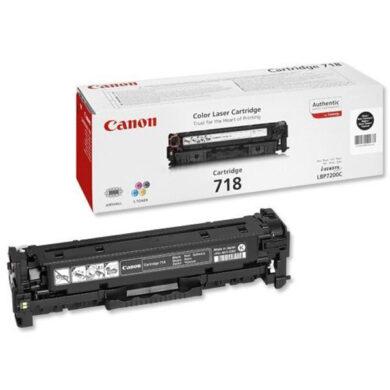 Canon Cartridge 718 Bk - originální - Černá na 3400 stran(011-03080)