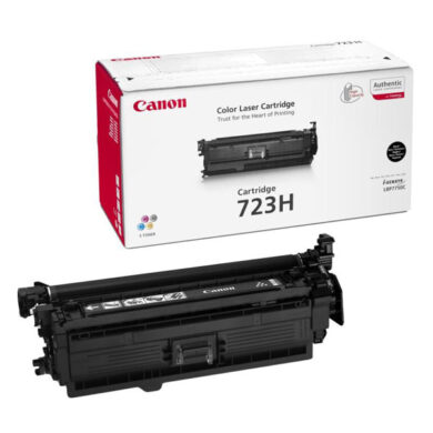 Canon Cartridge 723H Bk  - originální - Černá vekoobjemová na 10000 stran(011-03124)