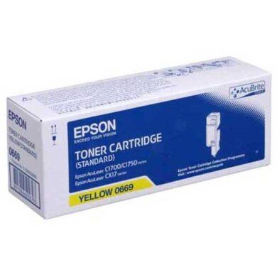 EPSON S050611 YE toner pro C1700/CX17, 1K4(011-03668)