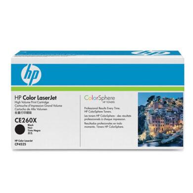 HP CE260X (649X) - originální - Černá velkoobjemová na 17000 stran(011-03731)