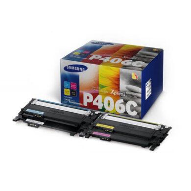 Samsung CLT-P406C - originální - Sada barev (C-M-Y)(011-03795)