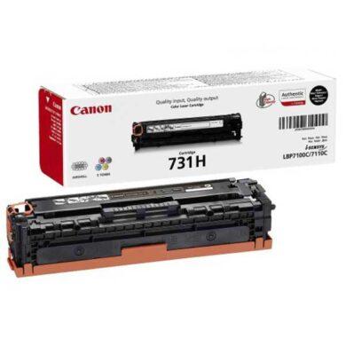 Canon Cartridge 731H Bk - originální - Černá velkoobjemová na 2400 stran(011-03914)
