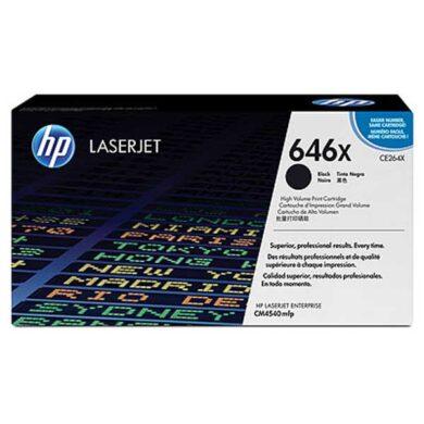 HP CE264X (646X) - originální - Černá velkoobjemová na 17000 stran(011-03950)