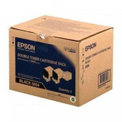 Epson AL-C3900N/CX37DN (S050594) - originální - Černá - Sada na 12000 stran(011-04604)