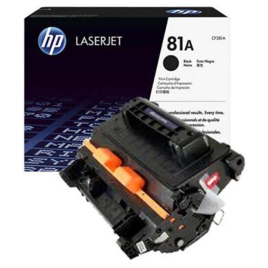 HP CF281A (81A) - originální - Černá na 10500 stran(011-04820)