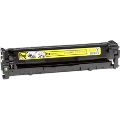 HP CB542A+ čip Renovace Yellow 1k4  (125A)(019-01096)