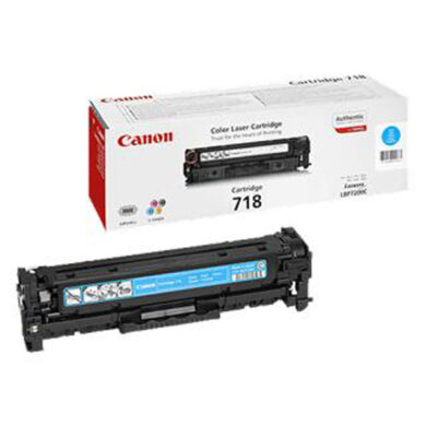 Canon CRG 718Cy  Renovace kazety 2k9 (CC531)(019-01171)