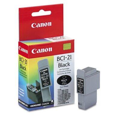 Canon BCI-21Bk - originální - Černá(031-00150)