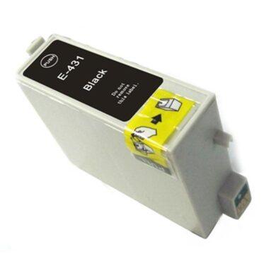 Epson T0431 - kompatibilní - Černá vekoobjemová(031-02445)