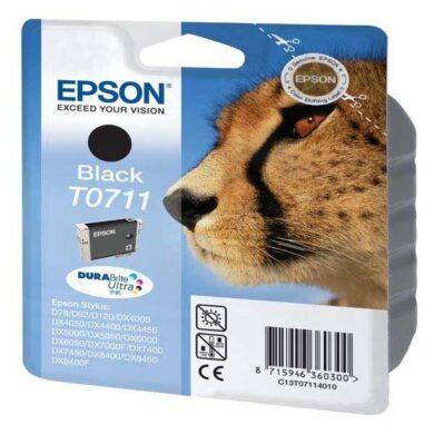 Epson T0711 - originální - Černá - Pigment(031-02910)