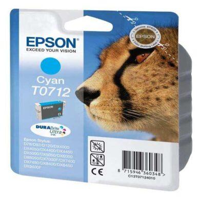 Epson T0712 - originální - Cyan velkoobjemová na 345 stran(031-02911)