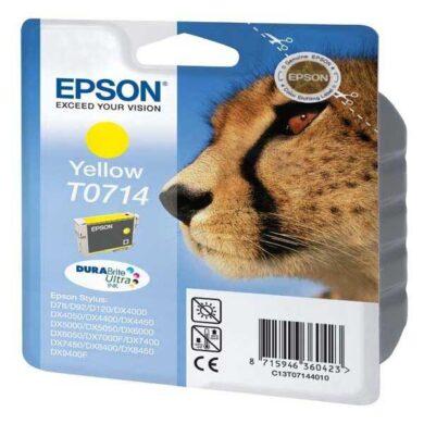 Epson T0714 - originální - Yellow velkoobjemová na 415 stran(031-02913)