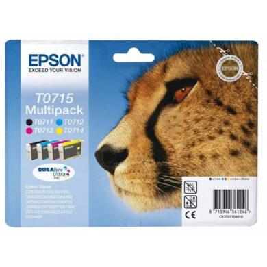 Epson T0715 - originální - Černá + sada barev(031-02914)