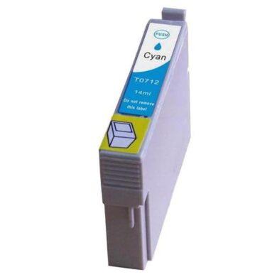 Epson T0712 - kompatibilní - Cyan velkoobjemová na 345 stran(031-02941)