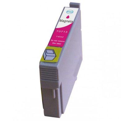 Epson T0713 - kompatibilní - Magenta velkoobjemová na 250 stran(031-02942)