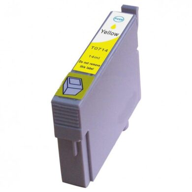 Epson T0714 - kompatibilní - Yellow velkoobjemová na 415 stran(031-02943)